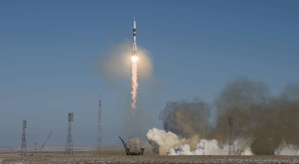 Expedition 54 launches to the International Space Station