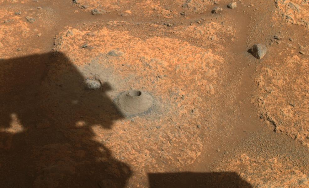 NASA's Perseverance Team Assessing First Mars Sampling Attempt
