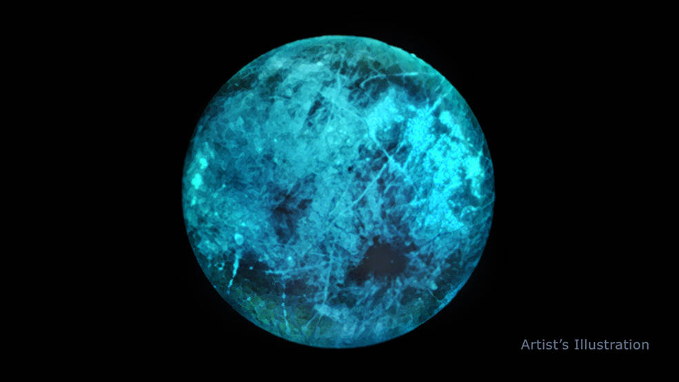 Europa se ilumina: la radiación revela un número brillante en la luna de Júpiter.