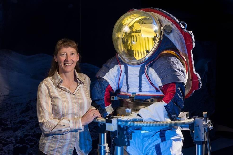 Advanced spacesuit designer Amy Ross