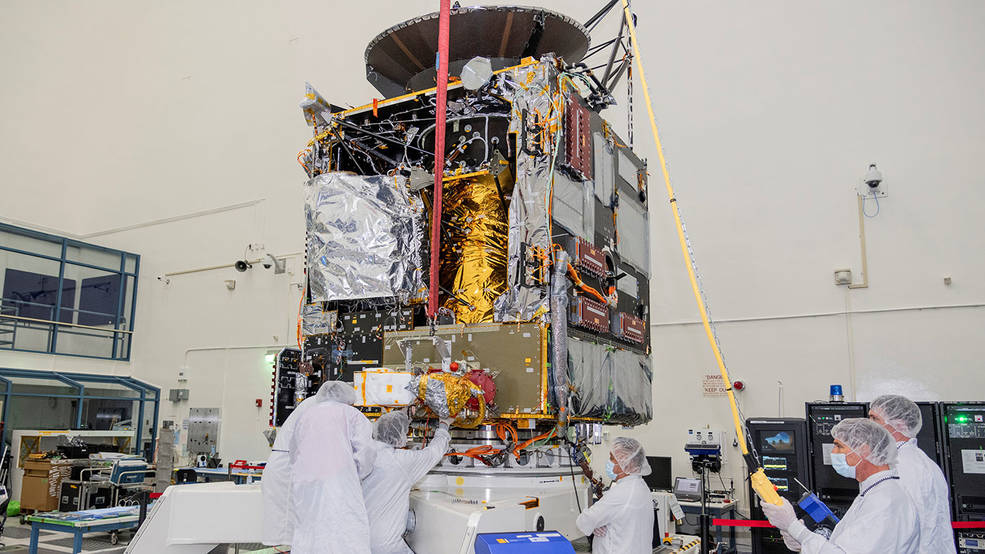 Engineers at NASA's Jet Propulsion Laboratory