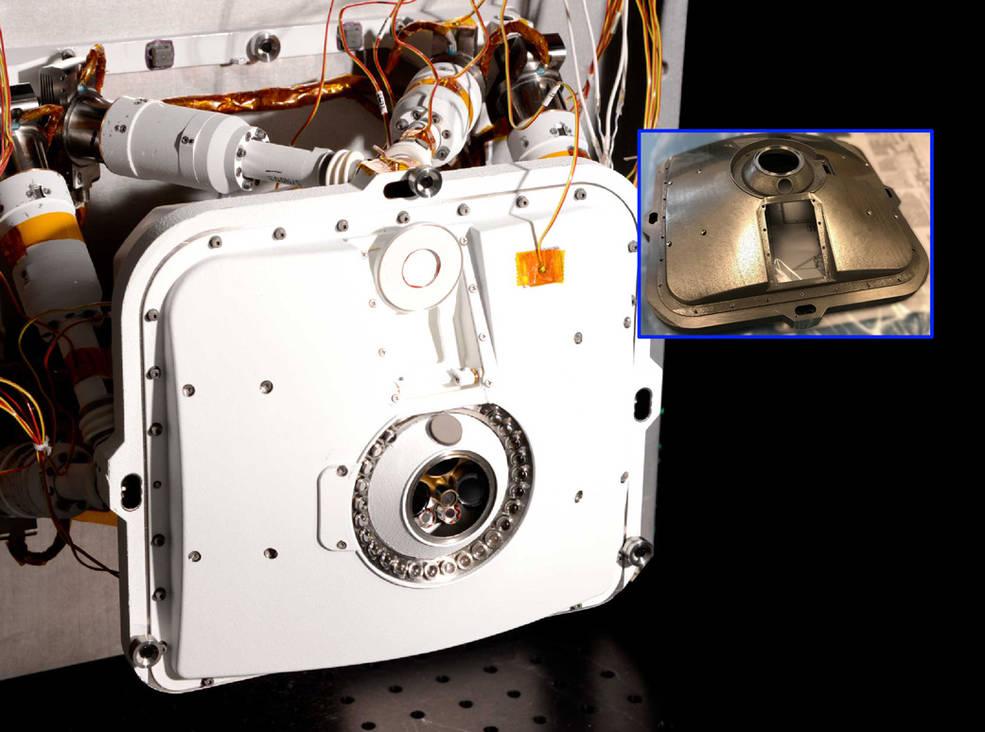 El Rover Perseverance de la NASA lleva piezas de metal impresas en 3D a Marte