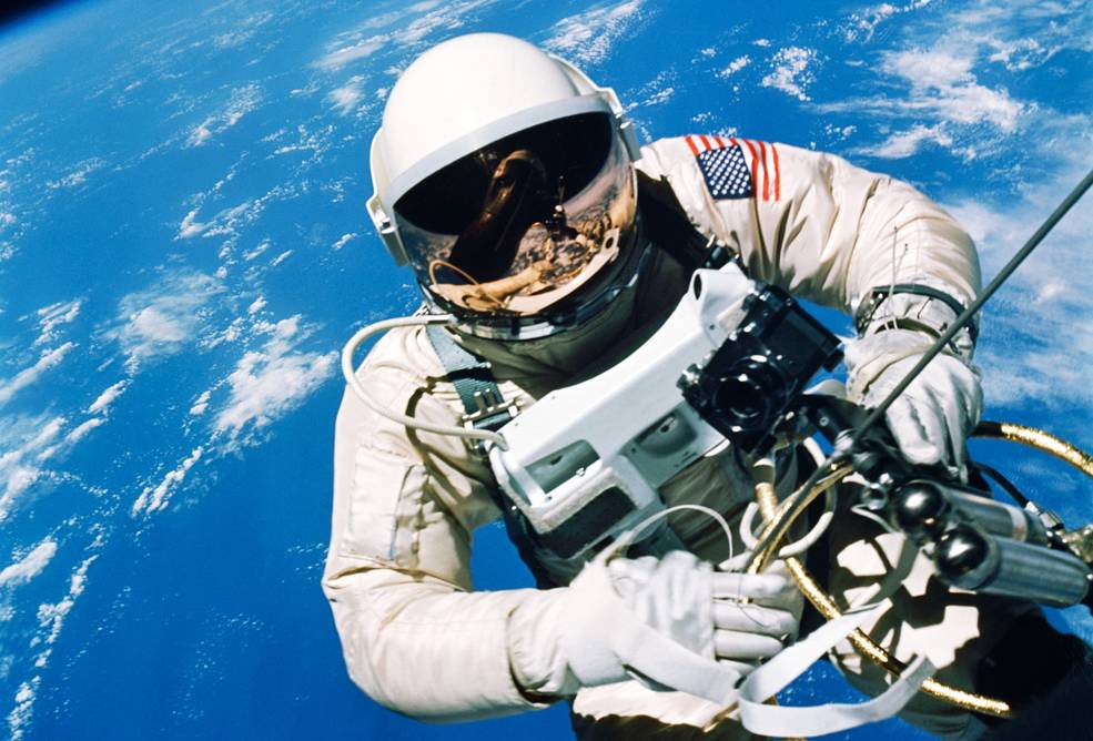 Gemini IV Spacewalk