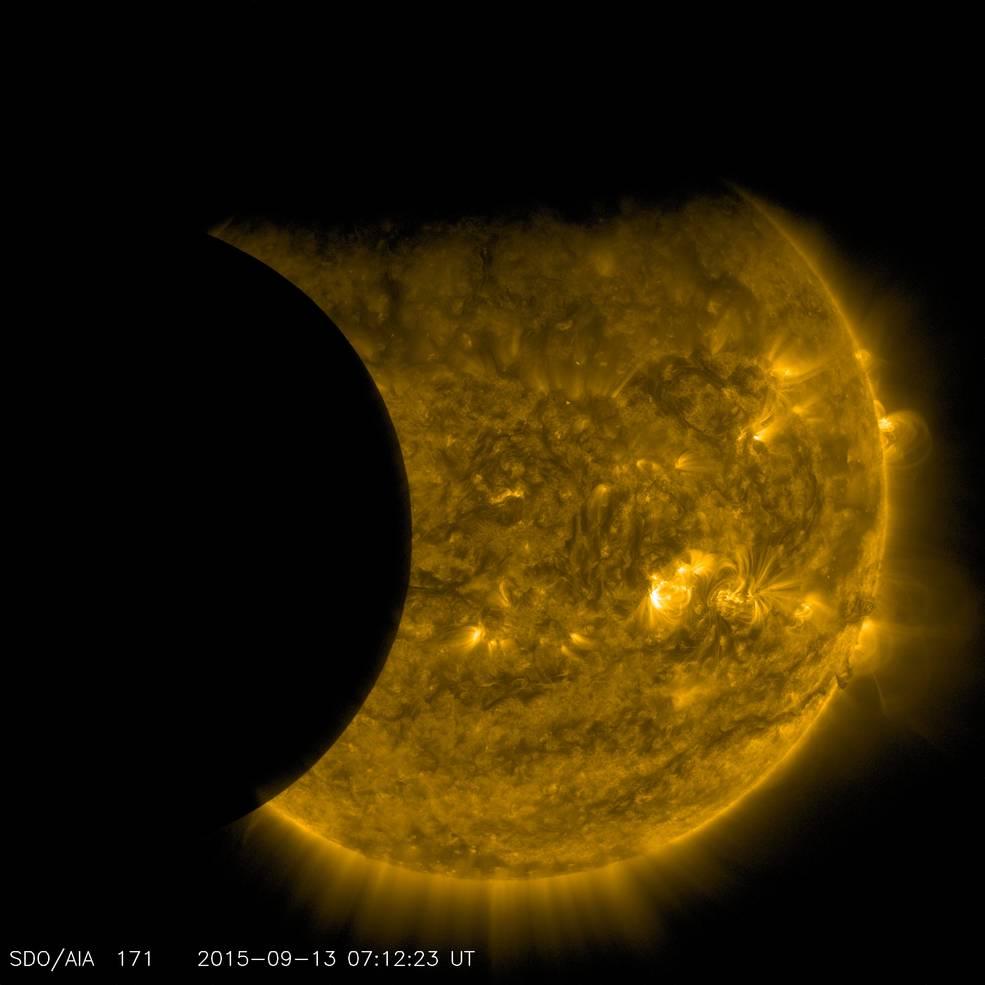 SDO Catches an Earth-Moon Double Photobomb | NASA