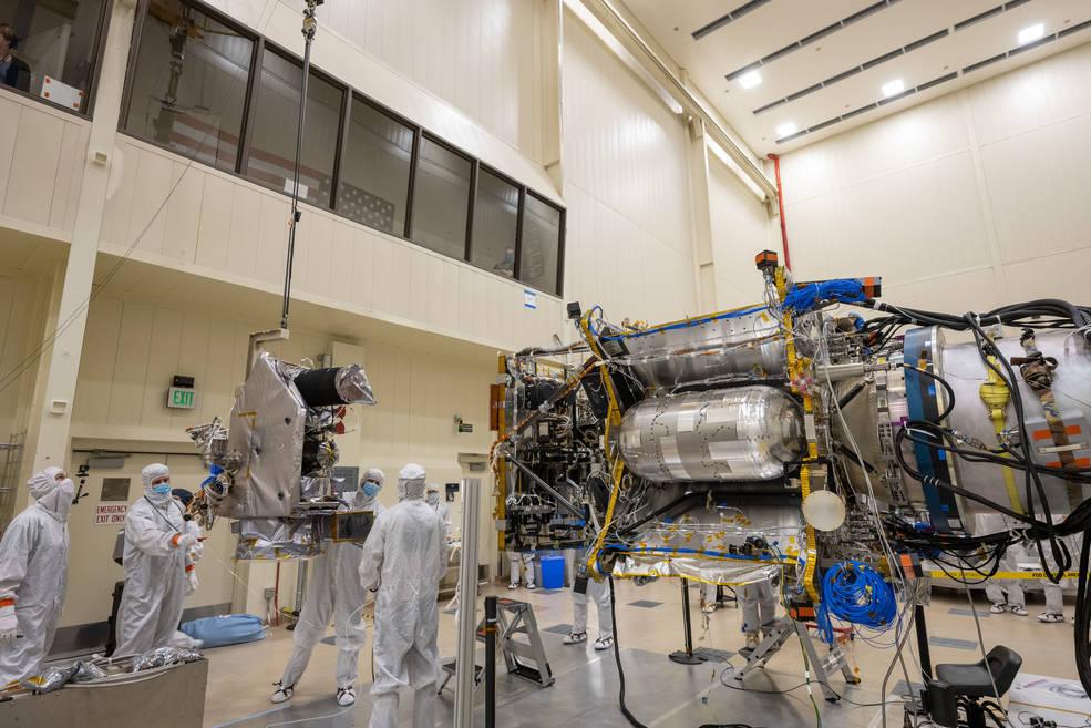La misión Lucy de la NASA se encuentra en la sala limpia