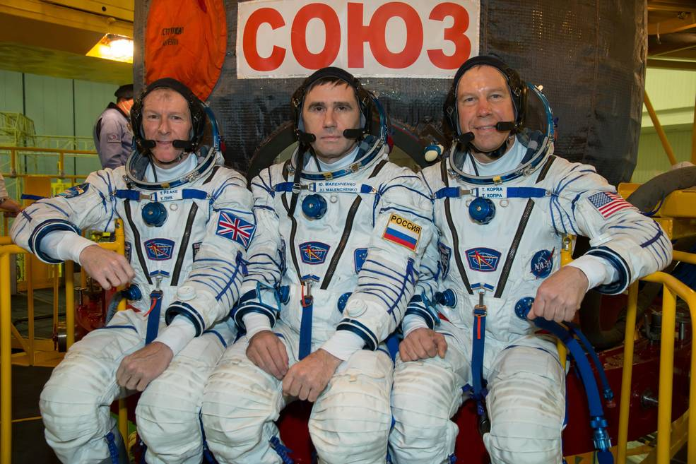 Credits: NASA/Victor Zelentsov