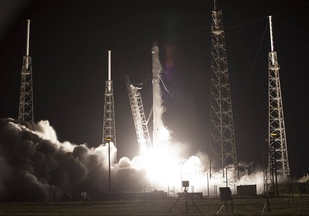 Falcon 9 Liftoff for SpaceX CRS-9