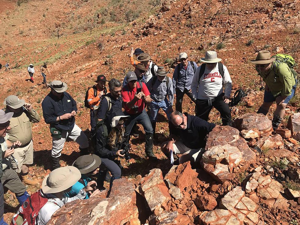 Científicos de los proyectos Mars 2020 de la NASA y ExoMars de la ESA.