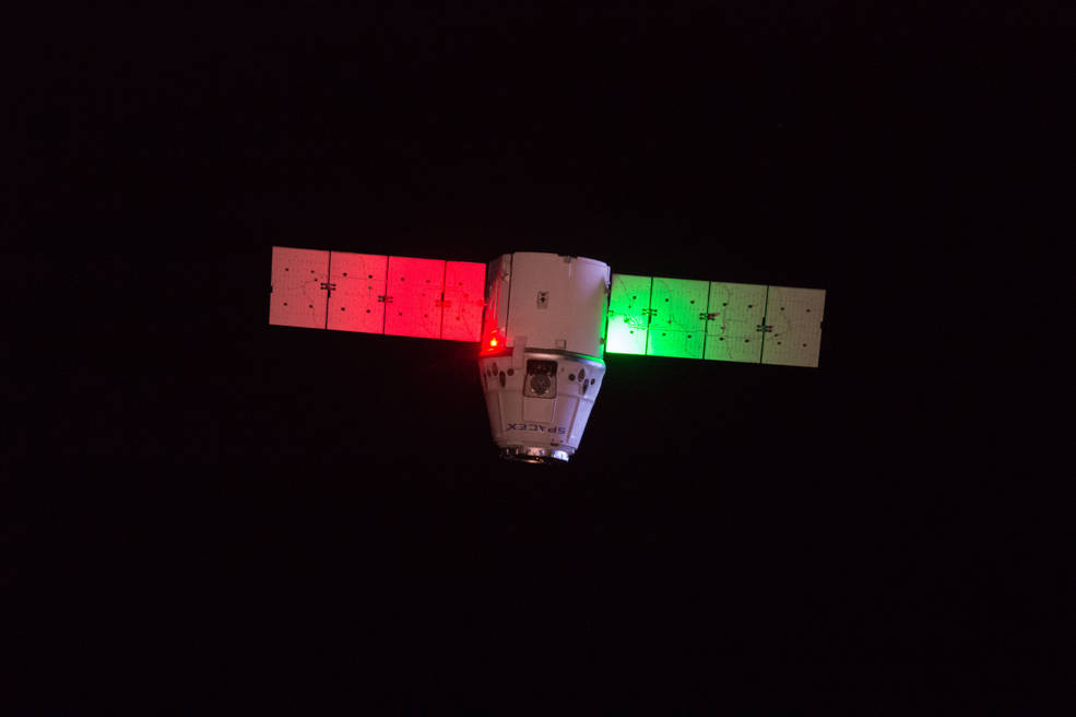 SpaceX Dragon cargo spacecraft is set to leave the International Space Station on Sunday, July 2