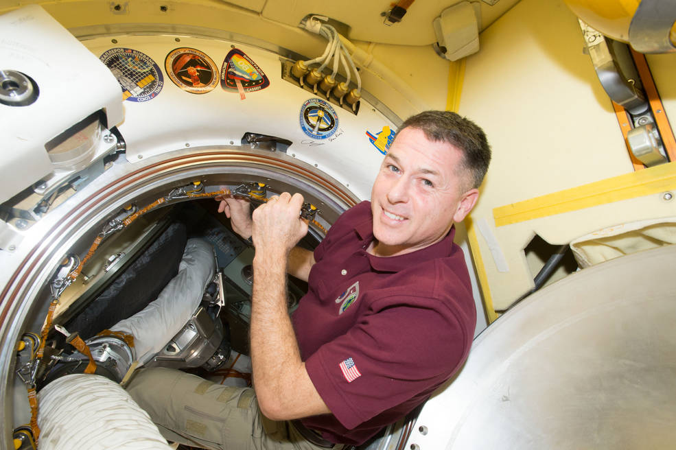 Expedition 50 Commander Shane Kimbrough of NASA