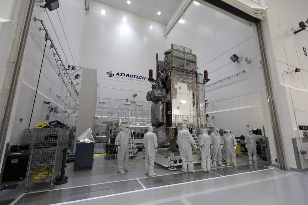 NOAA's Geostationary Operational Environmental Satellite-S (GOES-S)