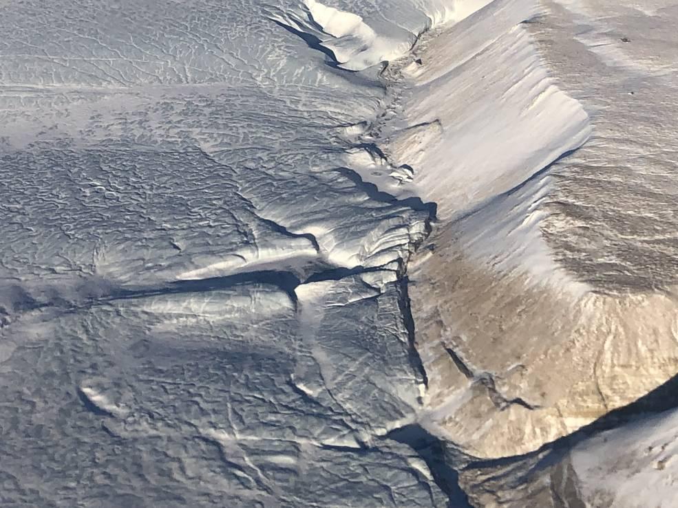 Glacier margin