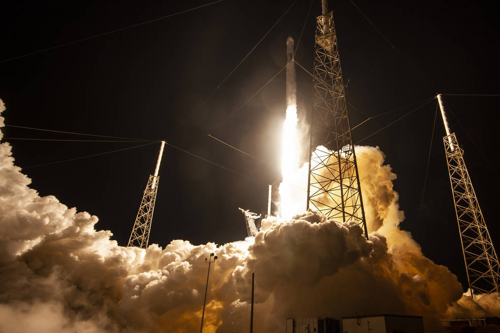 SpaceX CRS-17 launch May 4, 2019