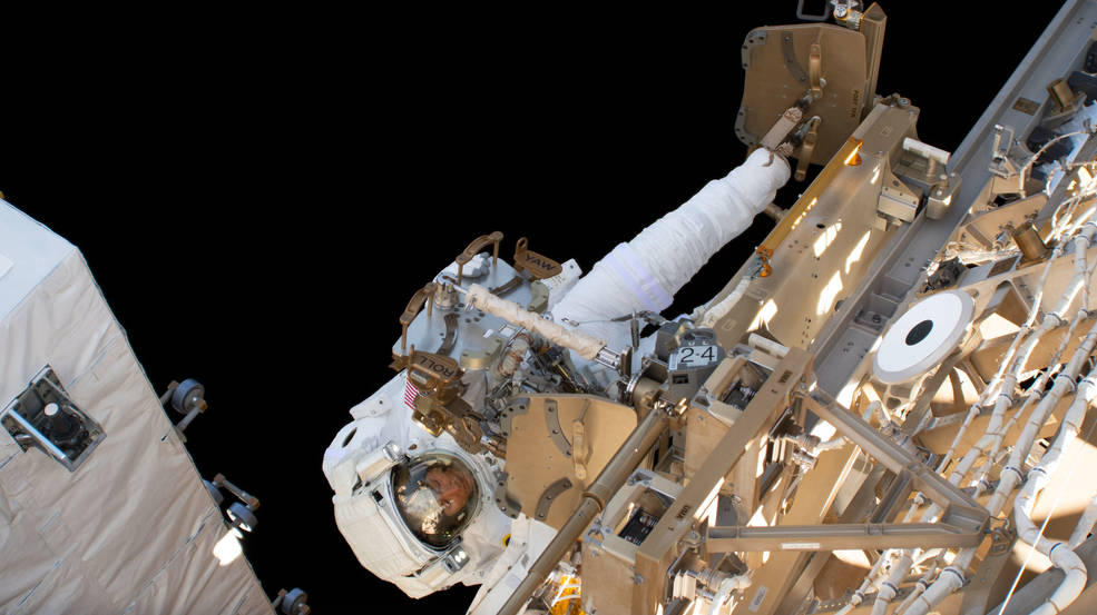 International Space Station astronauts are gearing up to perform 10 spacewalks in coming weeks