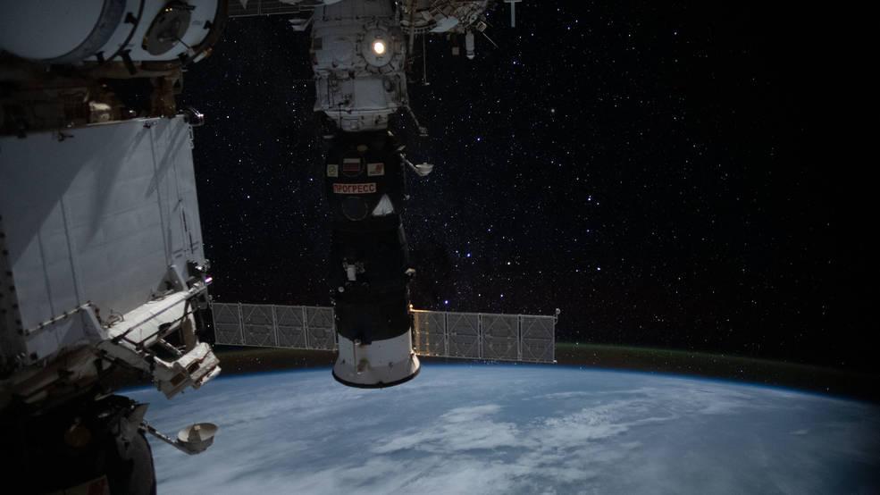 Progress 72 at ISS