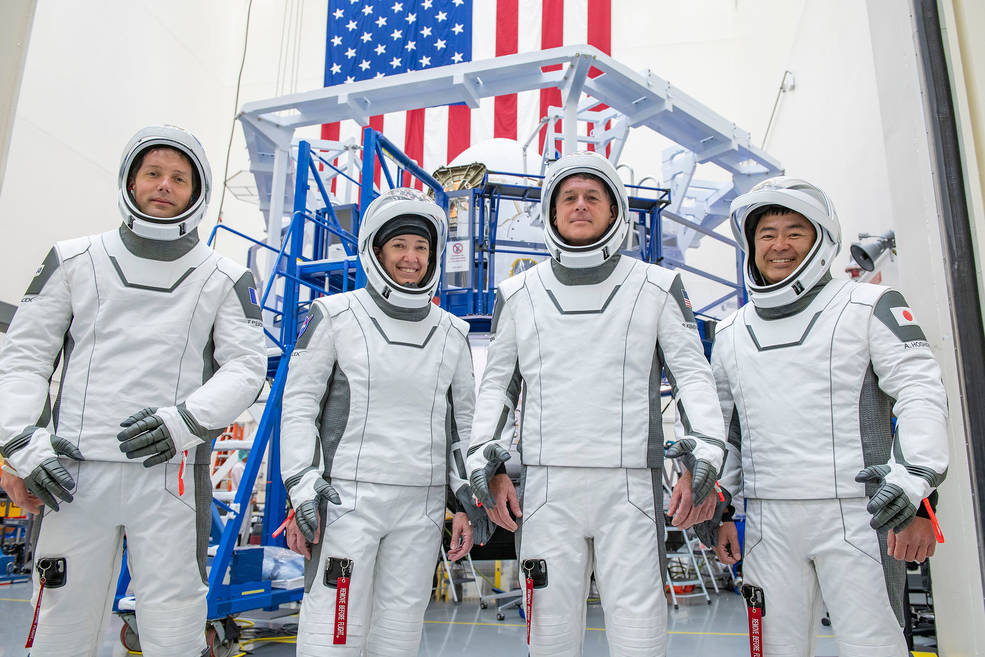 The crew for the second long-duration SpaceX Crew Dragon mission to the International Space Station, NASA's SpaceX Crew-2