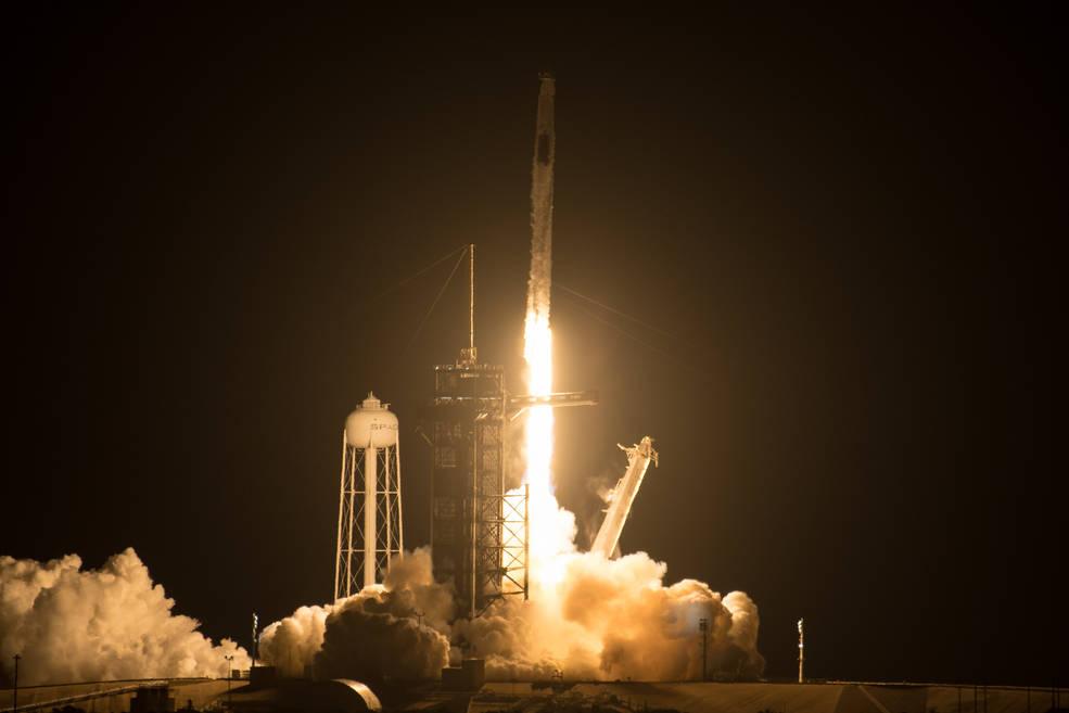 Lanzamiento Falcon 9 Crew-2