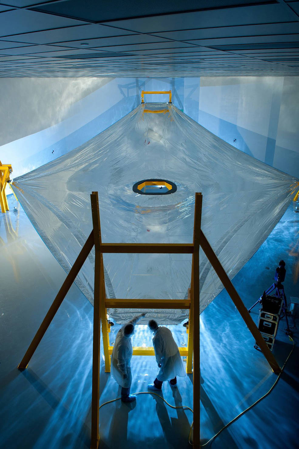 The Complex Material Engineering of NASA's Webb Telescope Sunshield