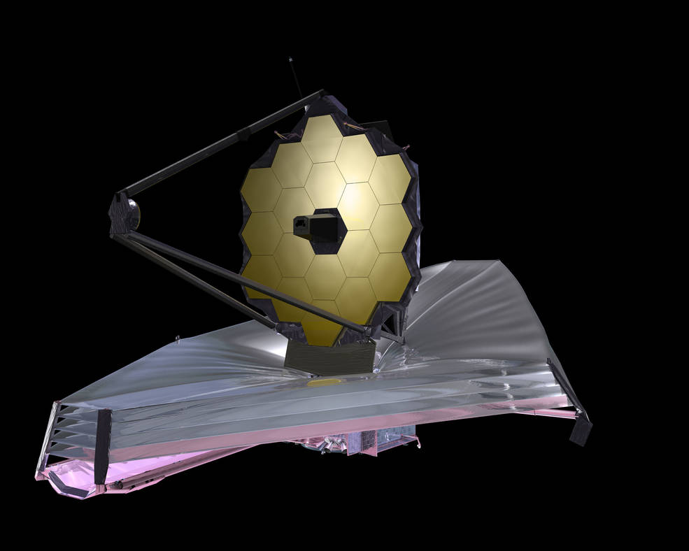 Artist concept of the James Webb Space Telescope