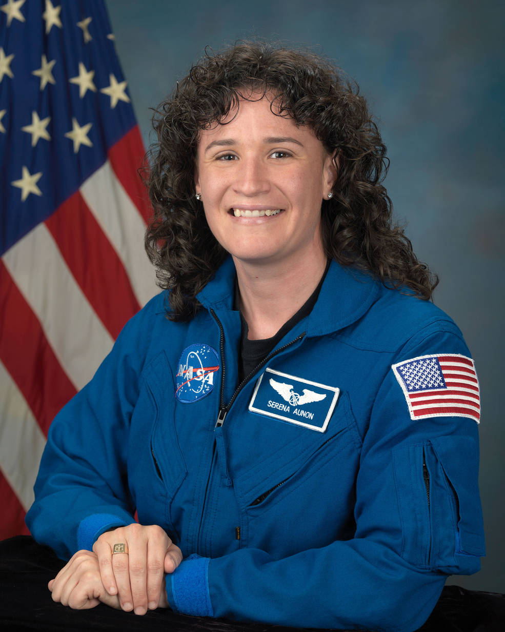 Official portrait of NASA astronaut Serena Auñón-Chancellor