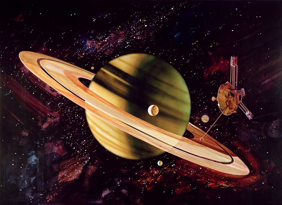 40 Years Ago: Pioneer 11 First to Explore Saturn   NASA