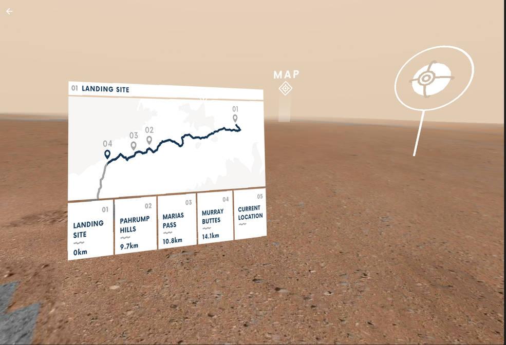 Con el conocimiento y las imágenes de la NASA, los planetas toman forma virtual en la Tierra.