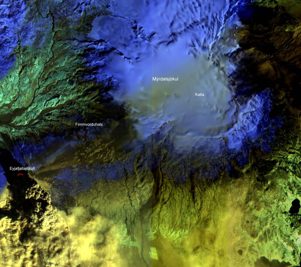 Icelandic volcano in 2010
