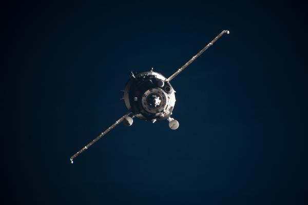 soyuz spacecraft in orbit