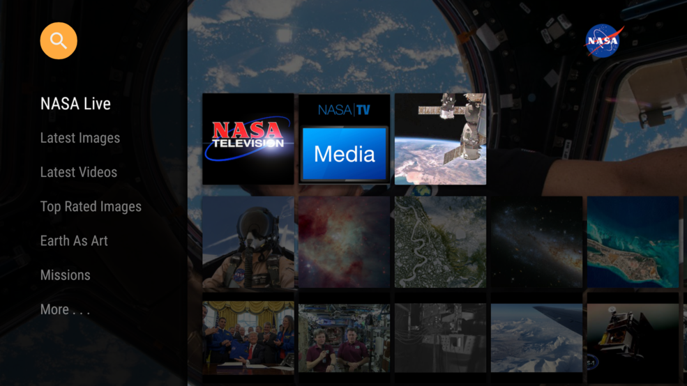 NASA has released its popular app for a new platform, Amazon Fire TV