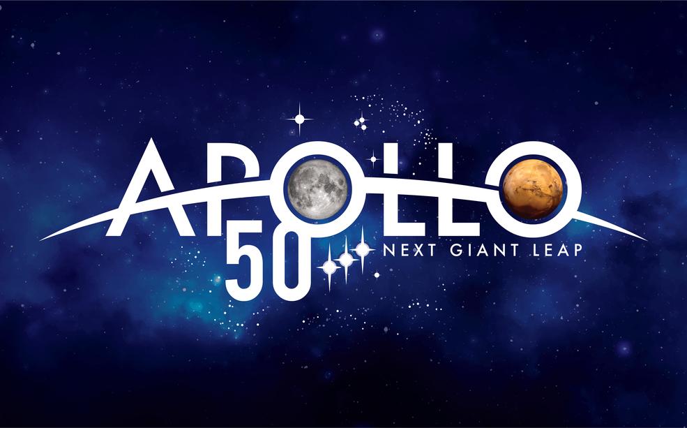 Apollo 50th Logo full color at 300 DPI