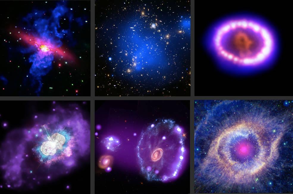 Chandra de la NASA abre el tesoro de las delicias cósmicas