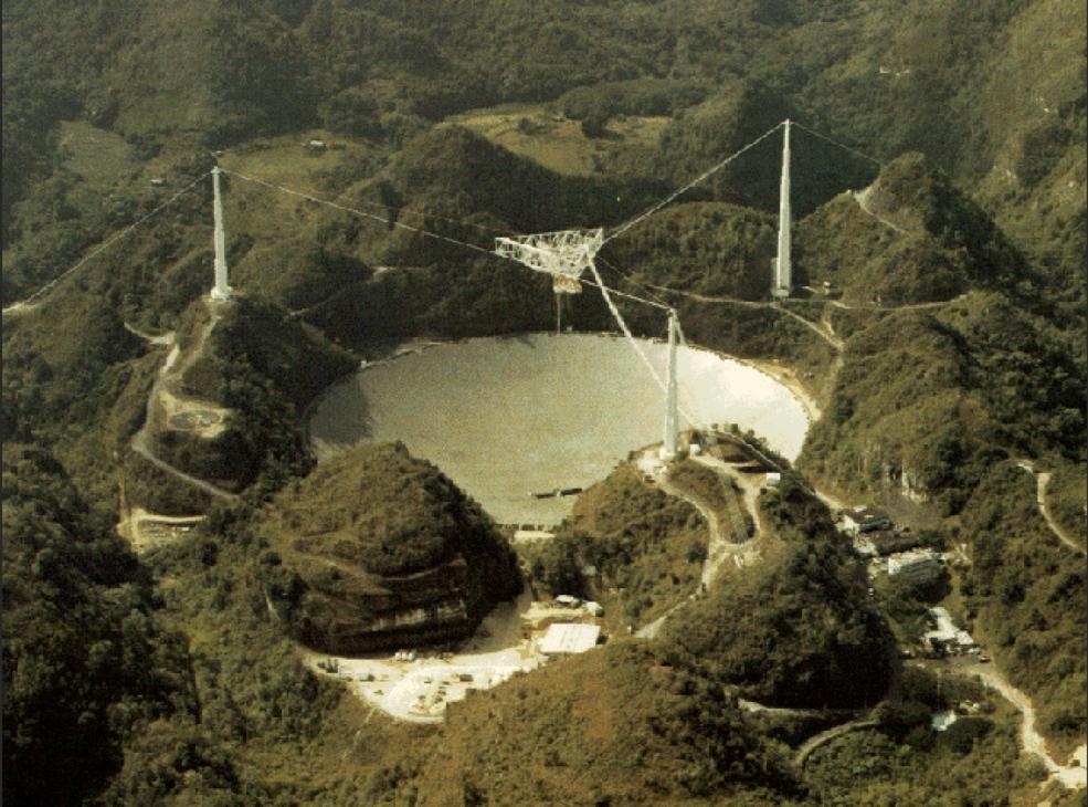 Declaración de la NASA sobre la clausura controlada y planificada del radiotelescopio de Arecibo por NSF.