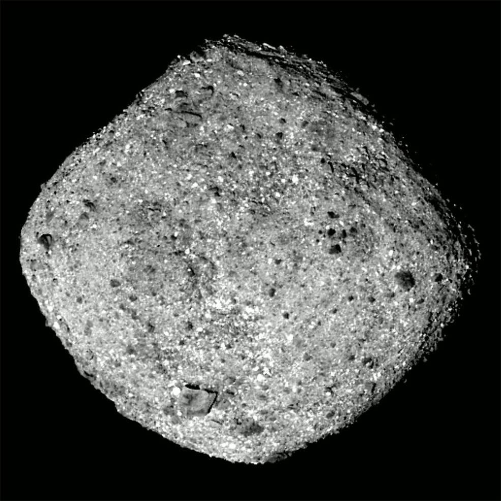 Osiris sonden er ankommet til asteroiden Bennu