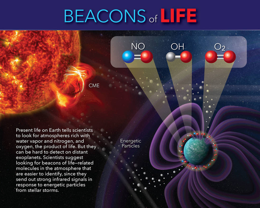 Beacons of Life infographic