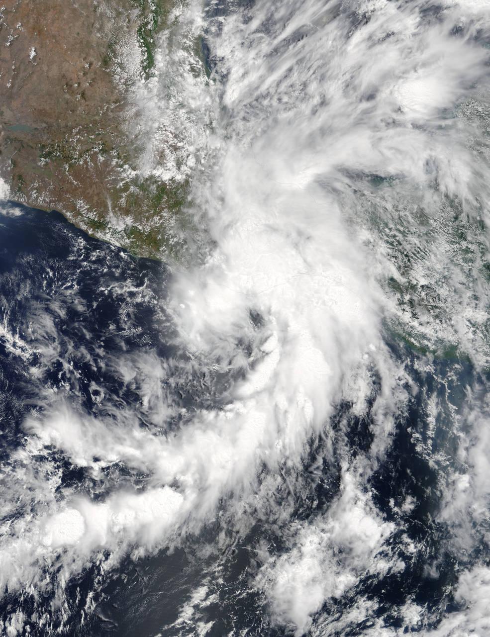 satellite image of Beatriz