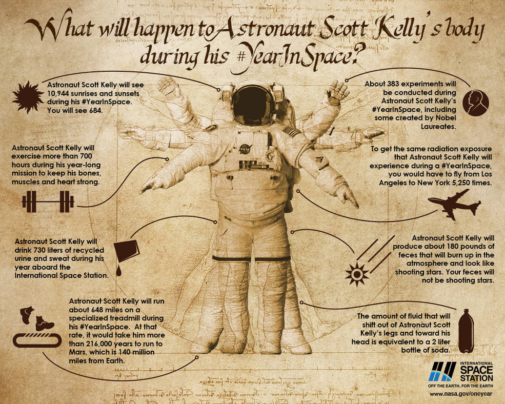 Body In Space Infographic