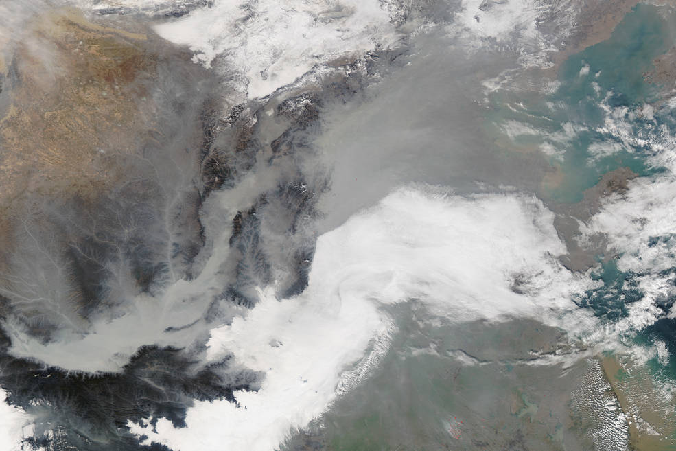 What Is Smog >> Earth's Recent History Key to Predicting Global Temperatures | NASA
