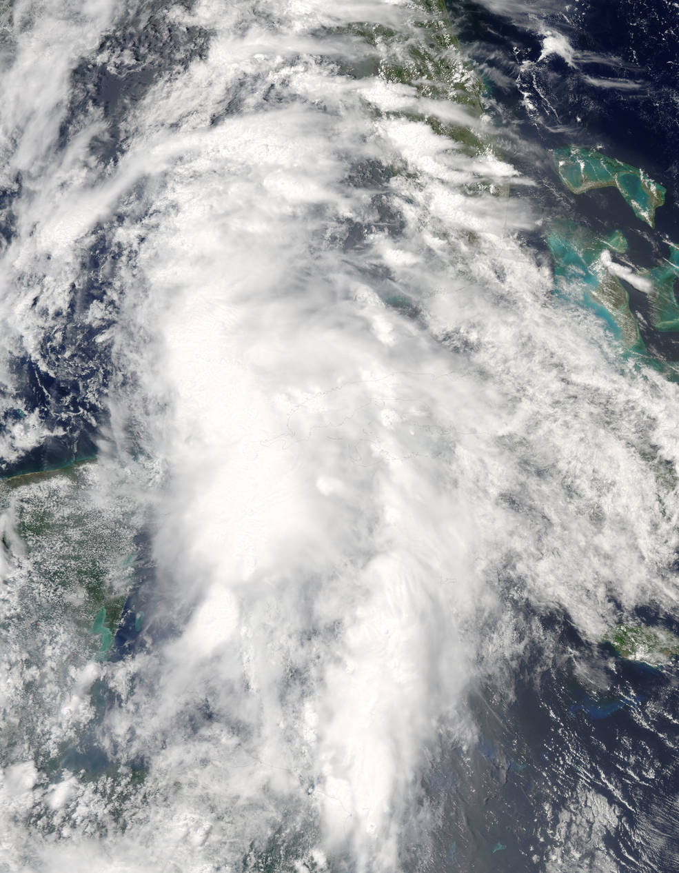 Tropical Storm Colin in Gulf of Mexico