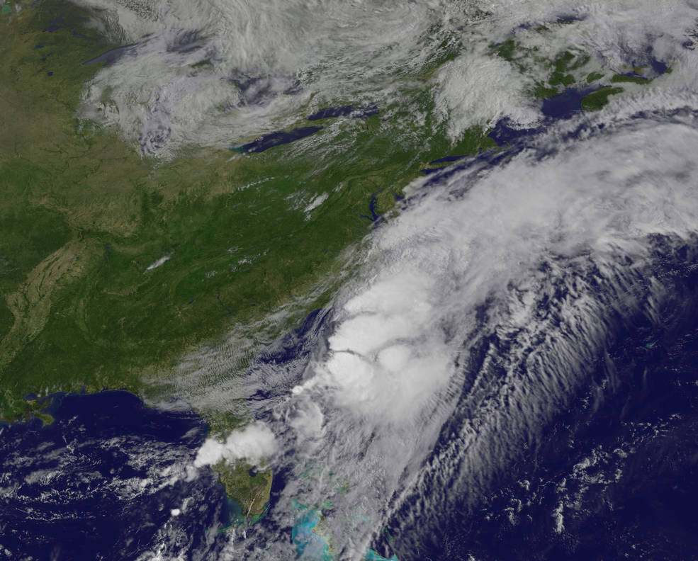 GOES-East image of Colin