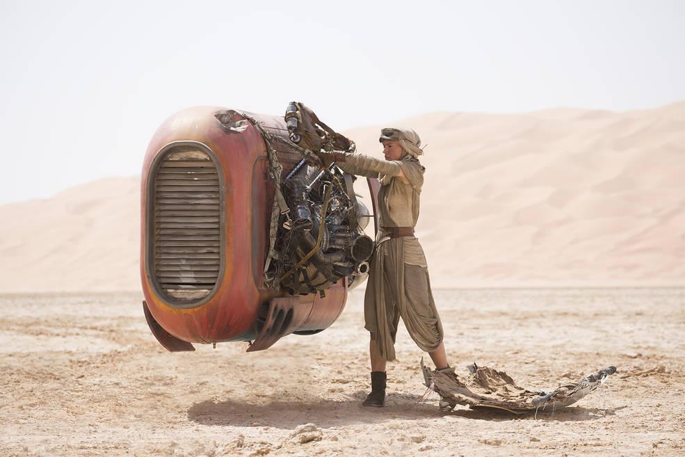 """Jakku, a desert planet in """"Star Wars"""