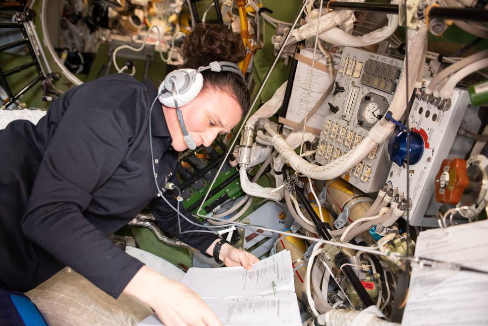 NASA astronaut Serena Aun-Chancellor