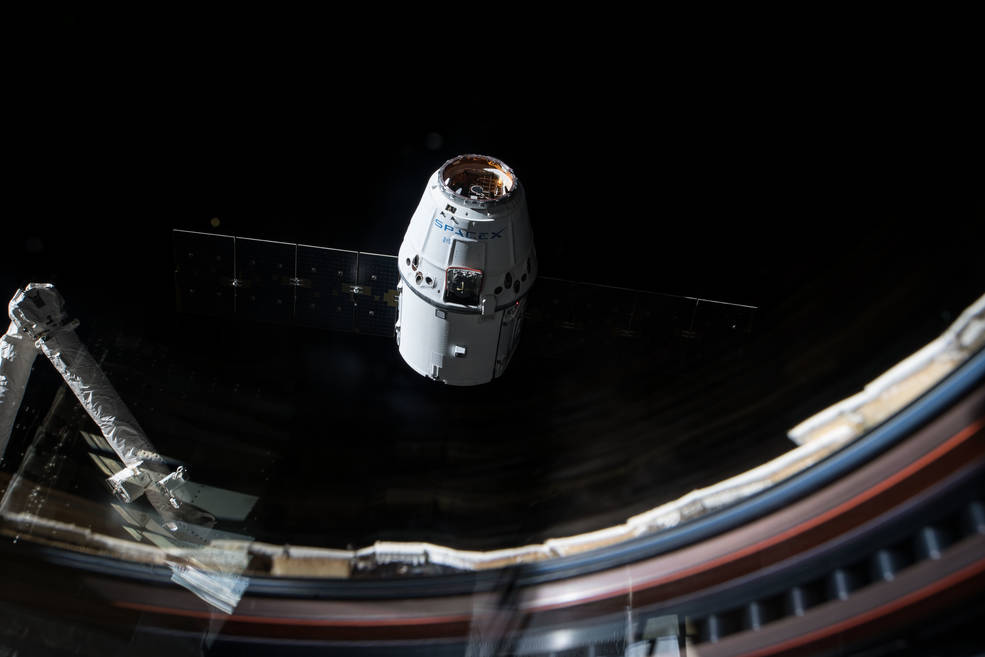 NASA Science to Return to Earth aboard SpaceX Dragon ...