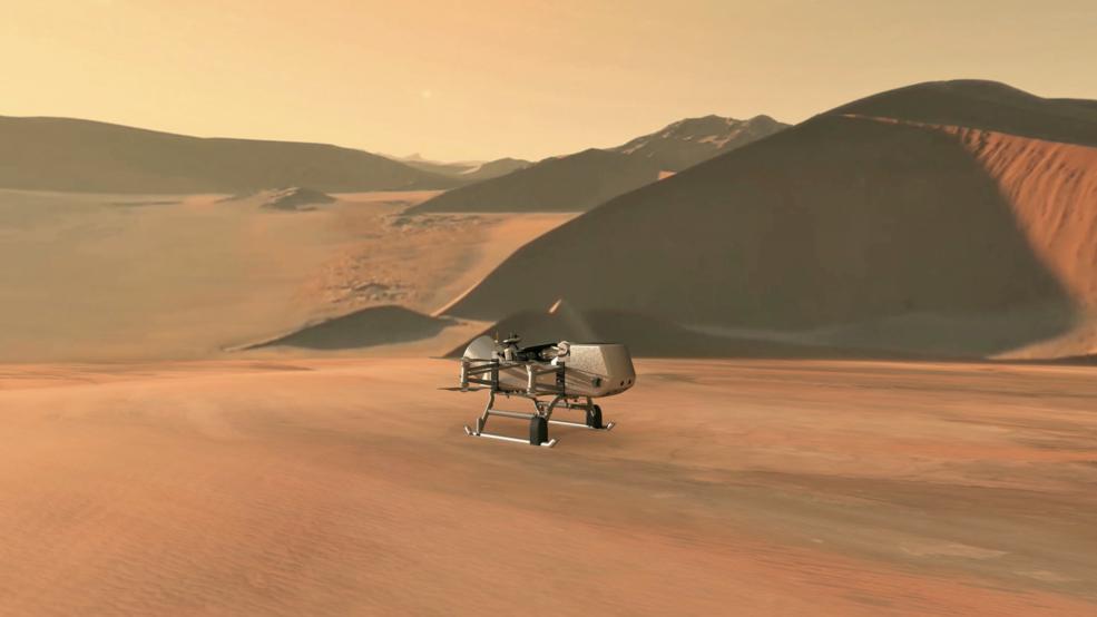 NASAs Dragonfly rotorcraft-lander
