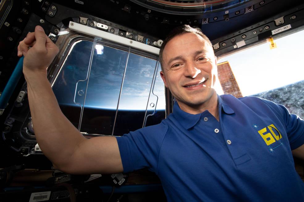 Expedition 60 Flight Engineer Drew Morgan