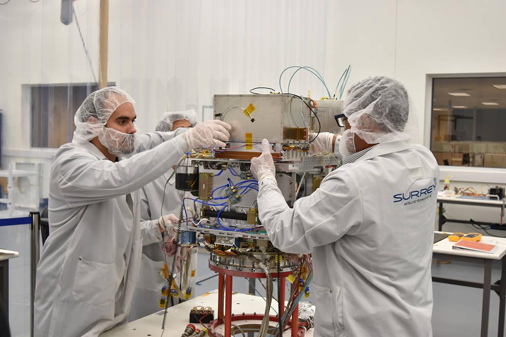 NASA's Deep Space Atomic Clock