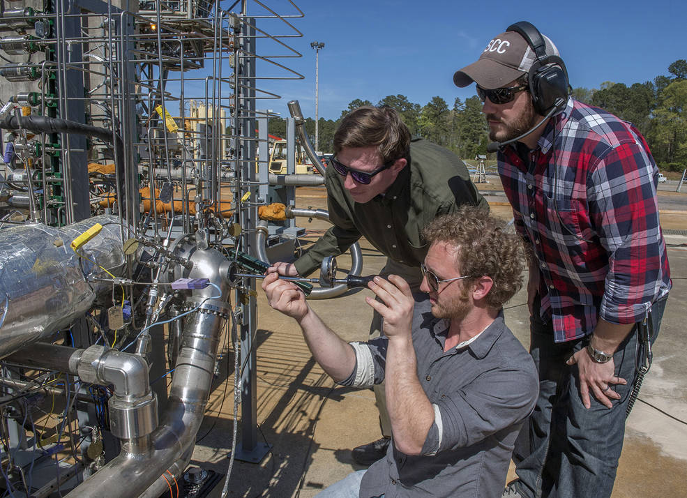 nasa rocket fuel pump tests pave way for methane fueled mars lander nasa. Black Bedroom Furniture Sets. Home Design Ideas