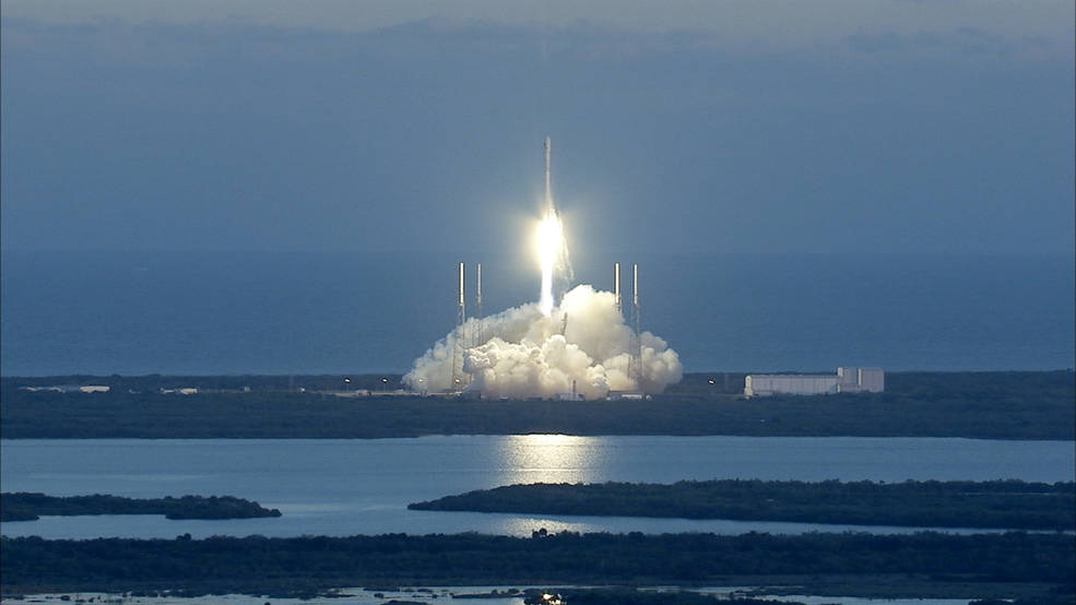 NOAA's New Deep Space Satellite Launched | NASA