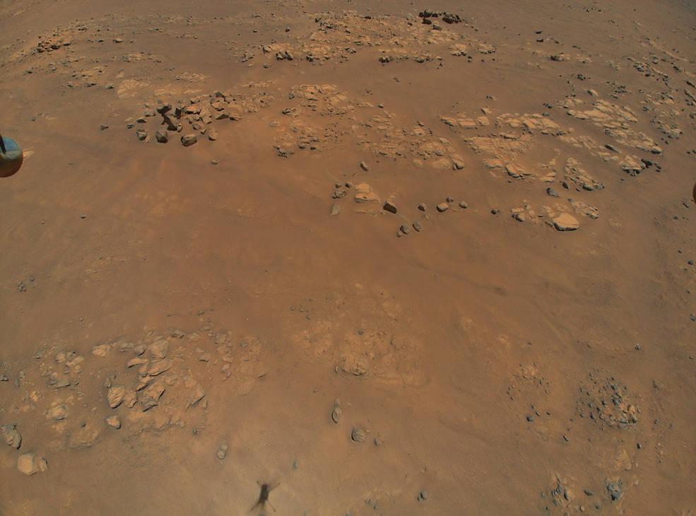 El helicóptero Ingenuity Mars de la NASA revela un terreno intrigante para el equipo del Rover