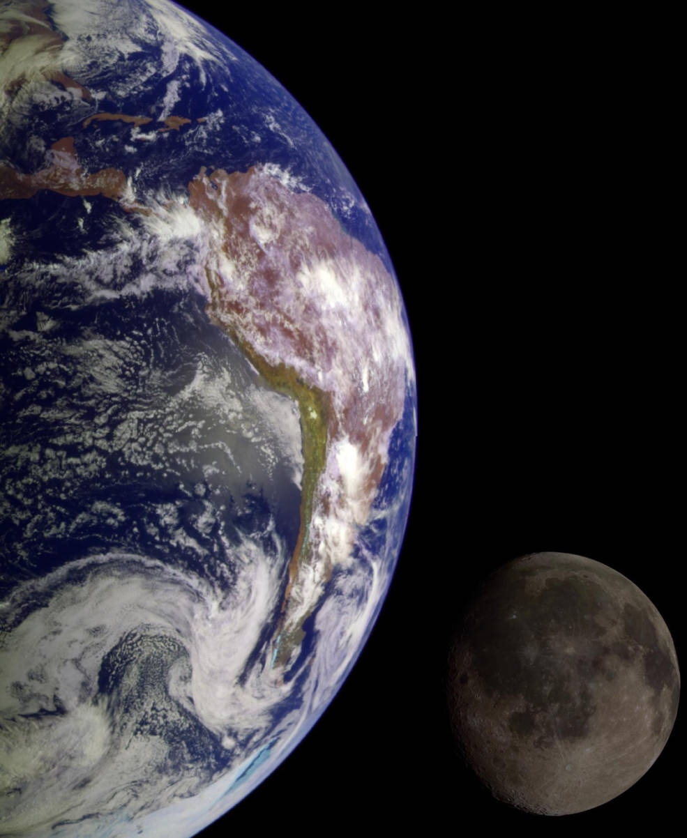 La Tierra y la Luna una vez compartieron un escudo magnético, protegiendo sus atmósferas.