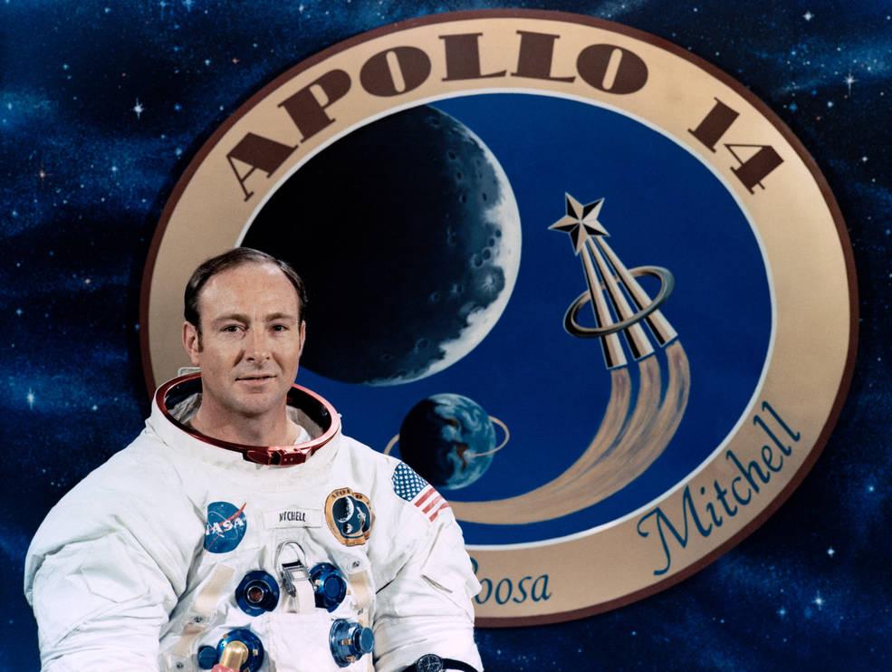 Apollo astronaut Edgar Mitchell